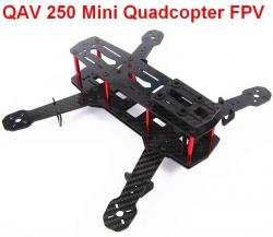 Rama Carbon QAV 250 Mini Quadcopter FPV z amortyzacją ZMR-250