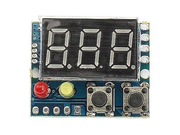 """Woltomierz DC 0-20V z Alarmem przekroczenia HV i LV - 0,36"""""""